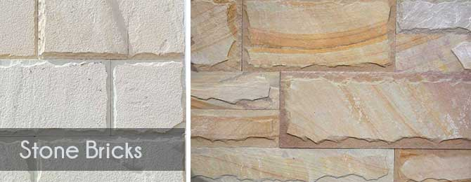 Stone Elevation Tiles : Natural stone wall tiles applications at outdoor elevation