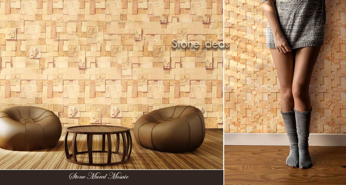 Designer Natural stone wall cladding tiles ideas for interior exterior