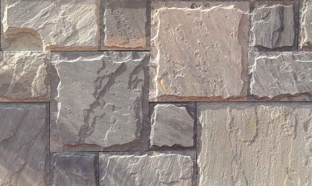 Stone Elevation Tiles : Natural stone bricks tiles for exterior interior elevation