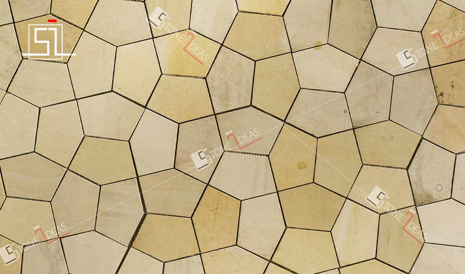 stone mosaic tiles for wall cladding | Indian exporter, manufacturer