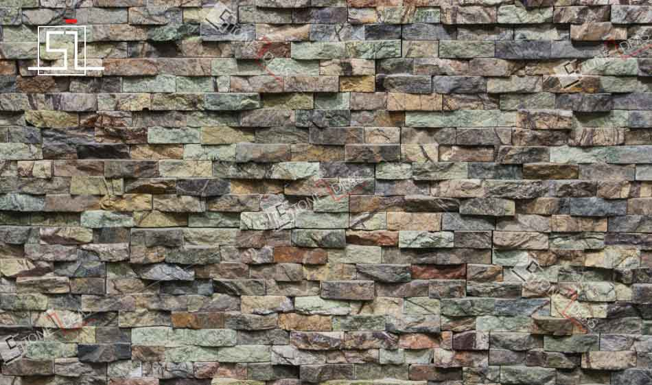 Natural Stone Elevation Tiles : Stone mosaic tiles for wall cladding and backsplash