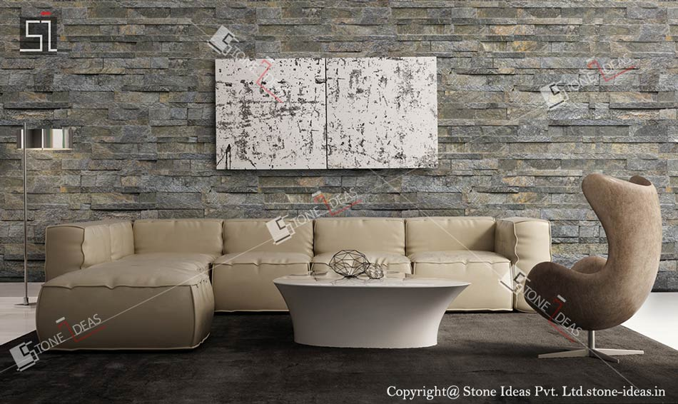 Stone Wall Panels Tiles Application On Interior Exterior